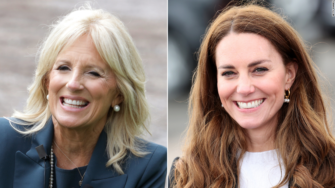 Jill Biden will meet with Kate Middleton in England this week