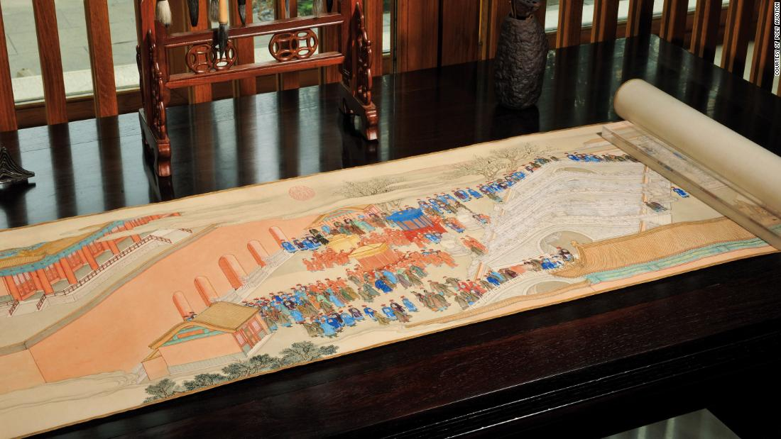M scroll joins history's most expensive Chinese artworks