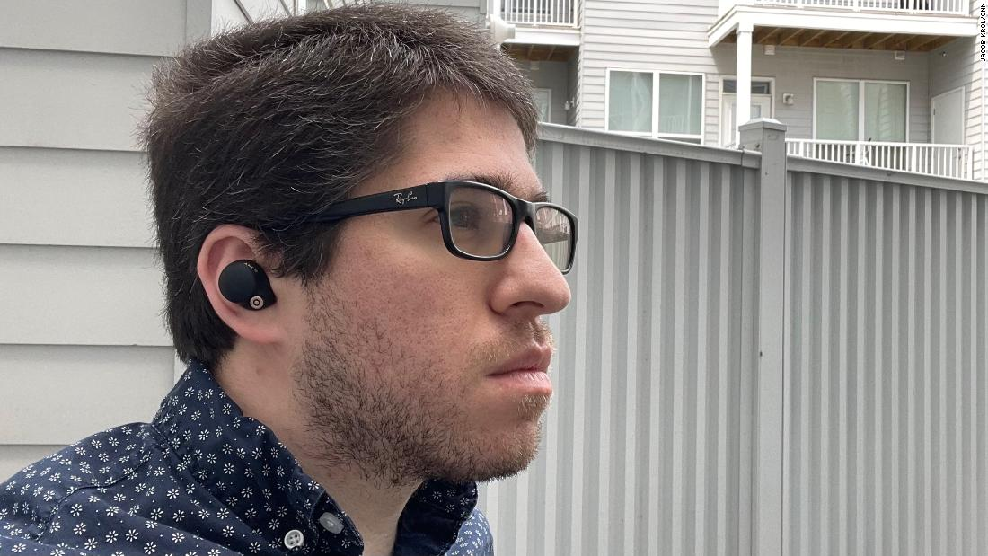Sony's WF-1000XM4 are some of the best noise-canceling earbuds yet | CNN Underscored