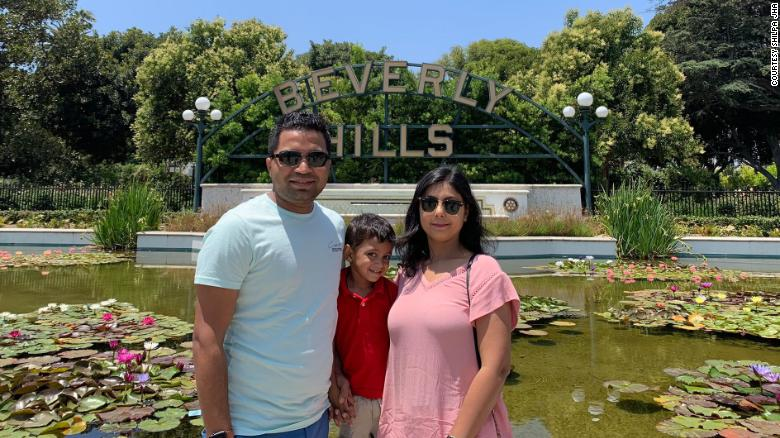 His wife could give birth in Arizona any day now, but he's stuck in India because of Covid-19 restrictions