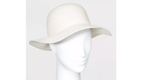 Women's Cotton Rope Fedora Hat