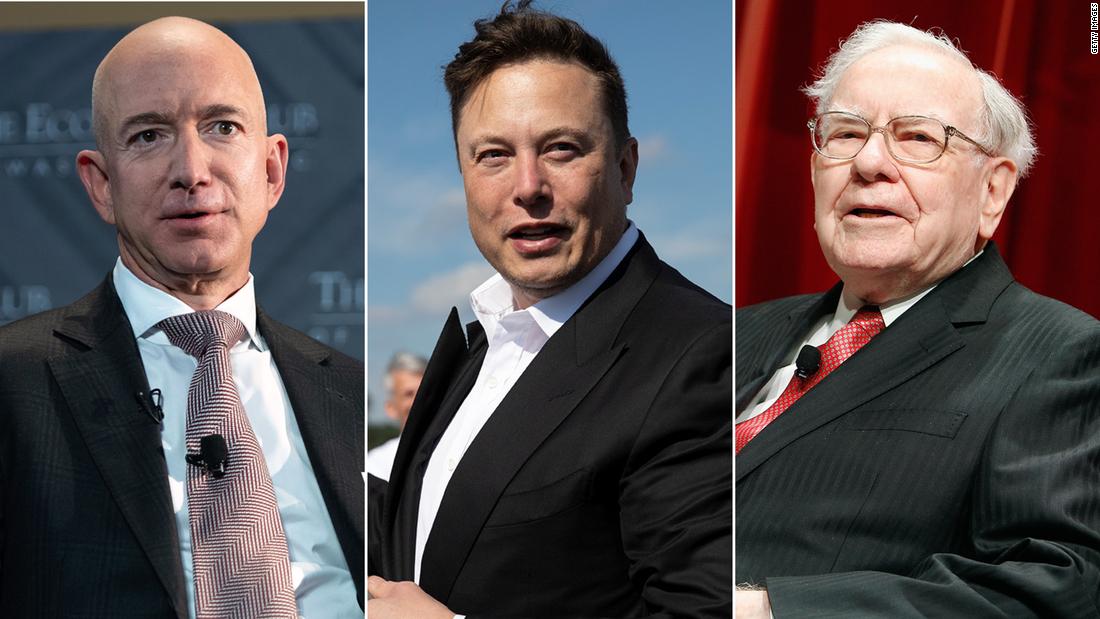 Biden administration investigates 'illegal' leak of Jeff Bezos Elon Musk and Warren Buffett's tax information – CNN