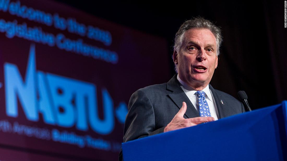 Terry McAuliffe wins Democratic gubernatorial primary in Virginia CNN projects – CNN
