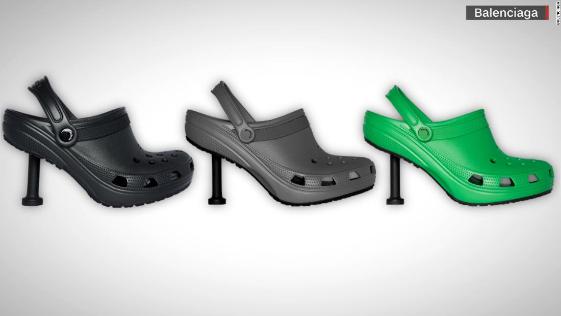 Balenciaga stiletto Crocs may sell for as much as $1K - CNN Video
