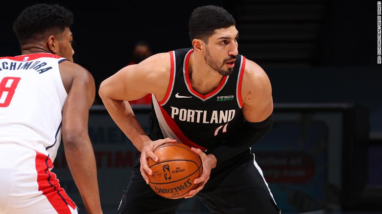 NBA's Enes Kanter says he is 'shocked and disgusted' after his brother was robbed in Atlanta