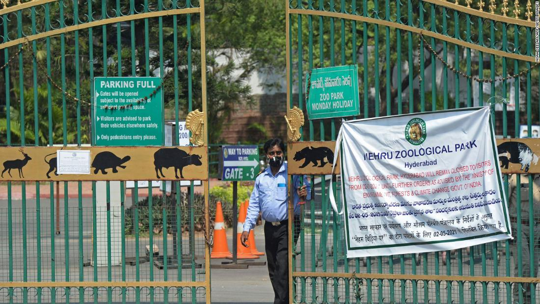 India closes all tiger reserves after Covid outbreaks in zoos