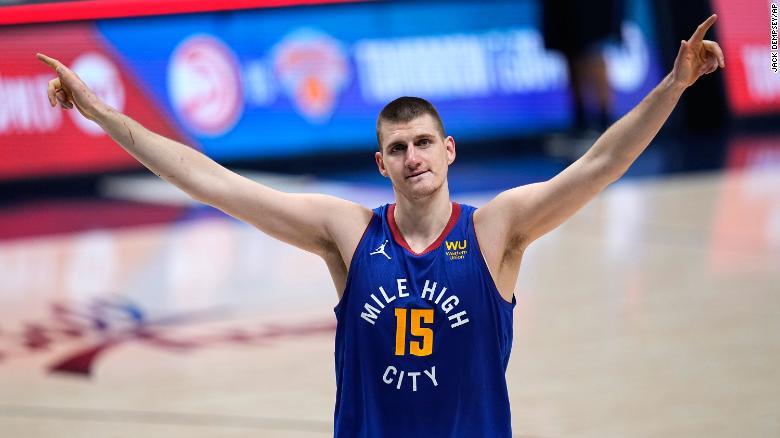 Nikola Jokic named 2021 NBA Most Valuable Player