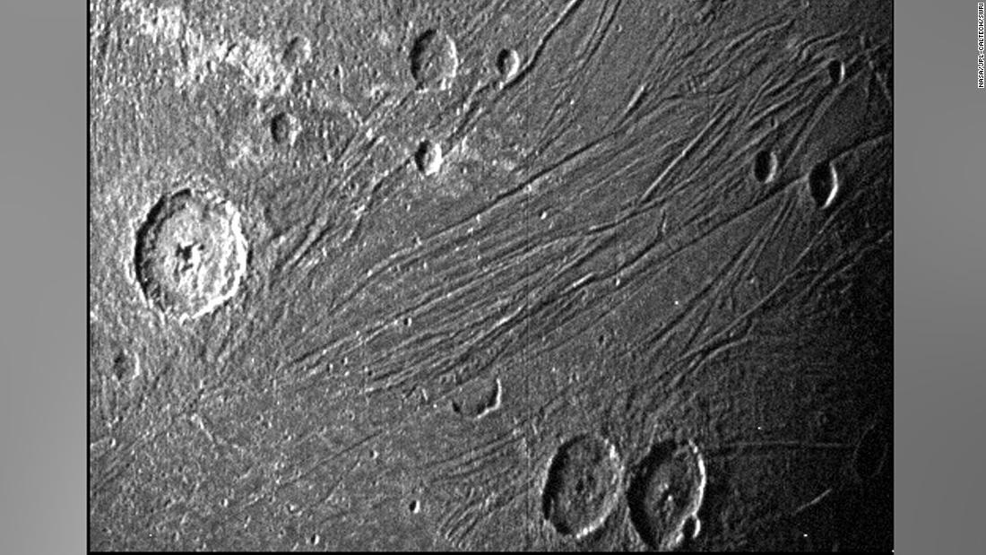 NASA's Juno mission captures first closeup images of Jupiter's largest moon in a generation – CNN