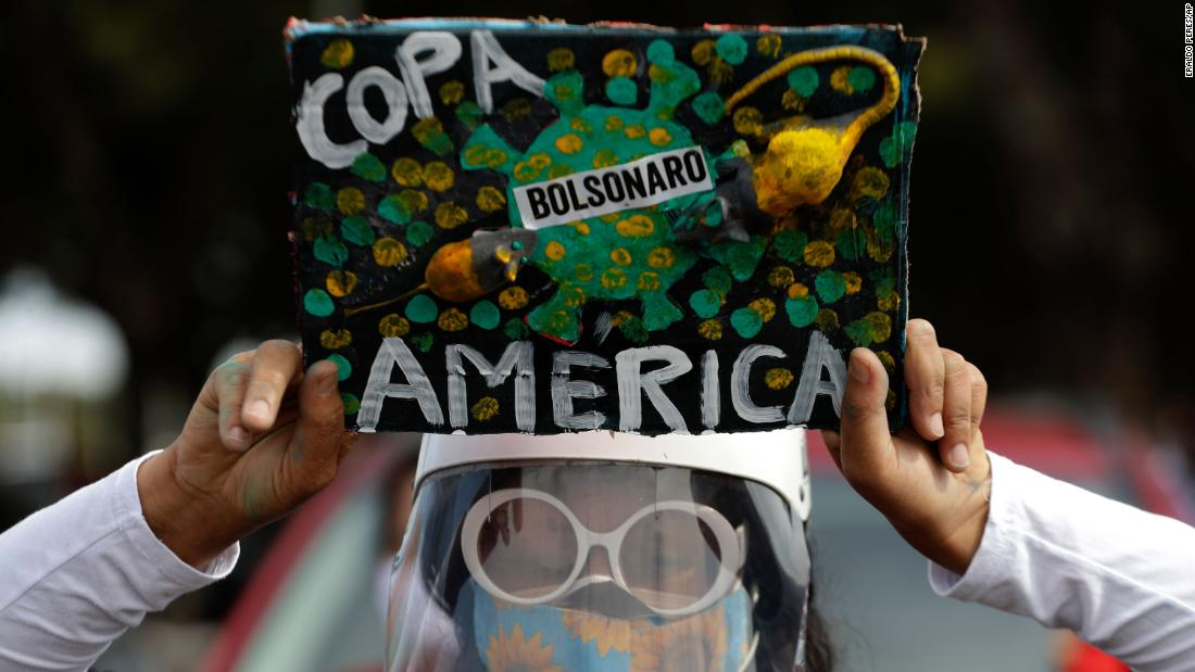 Copa América: With Covid-19 cases rising, public support in Brazil for tournament is divided - CNN Video