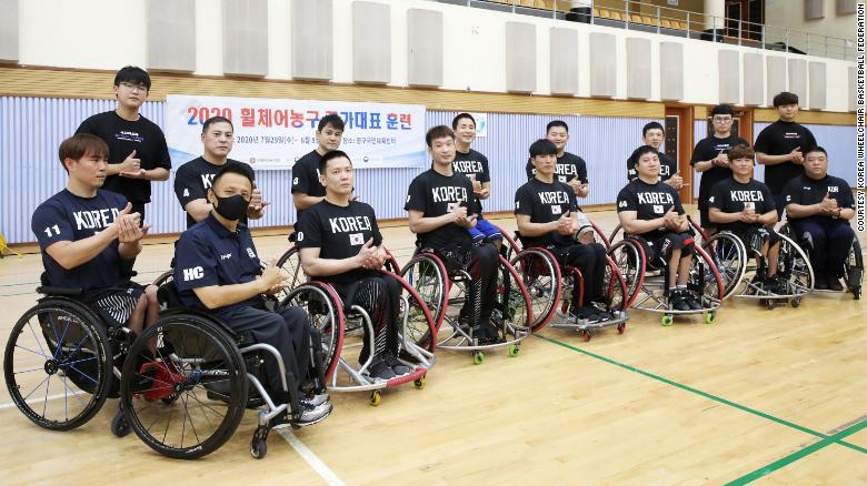 South Korea Paralympic basketball team inspired by coach who died of cancer