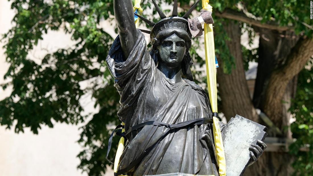 France is sending a second Statue of Liberty to the US