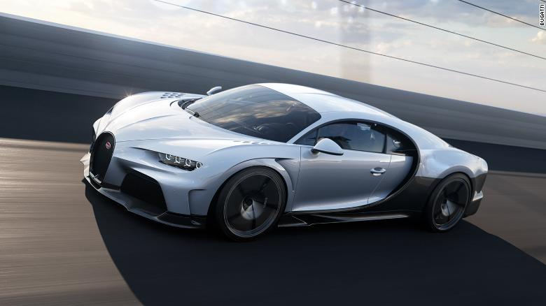 Bugatti Chiron Super Sport dirancang untuk pengendaraan yang mulus dan kecepatan tertinggi