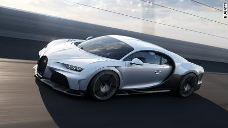 The Bugatti Chiron Super Sport is engineered for smooth driving and high top speeds.