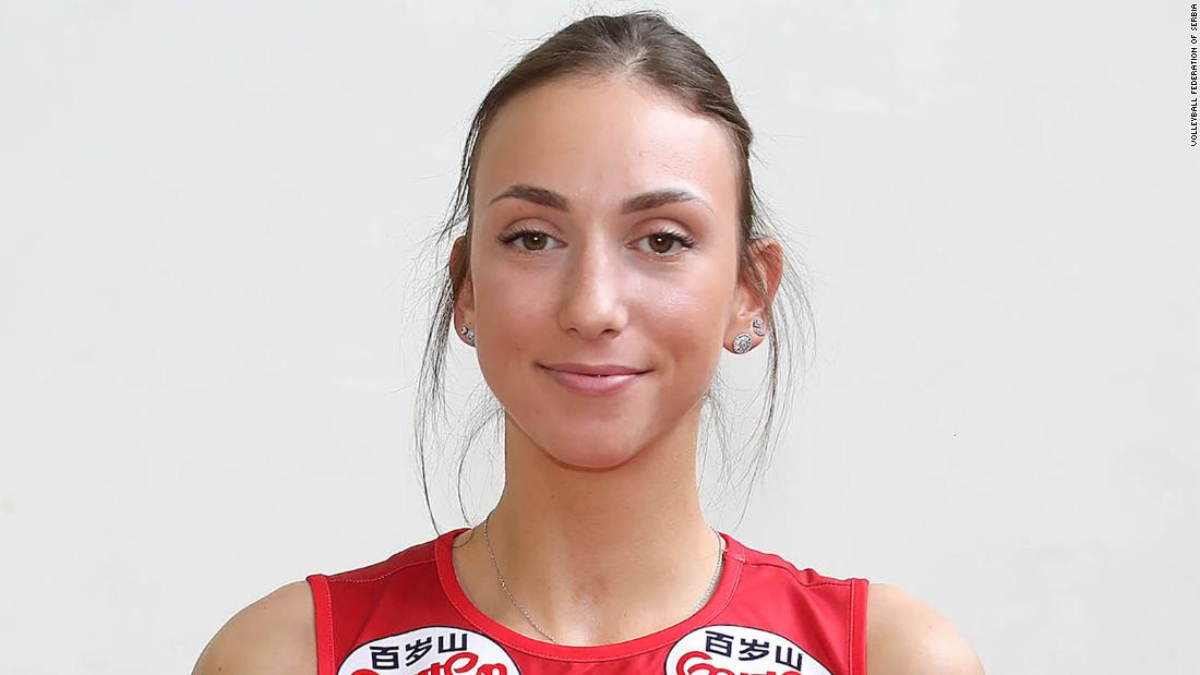 Serbian volleyball player suspended after making anti-Asian racist gesture during match against Thailand