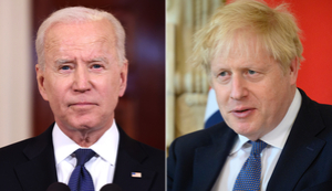 Brexit trouble overshadows Biden and Johnson's first meeting