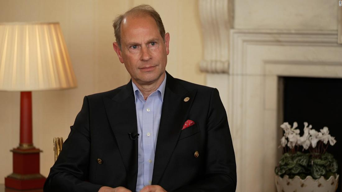'That's families for you.' Prince Edward discusses the Sussexes the bereaved Queen and his father's legacy – CNN