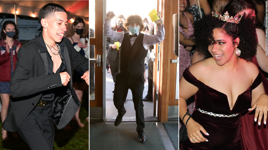 From attire to entertainment, this year's senior proms were like none other in US history