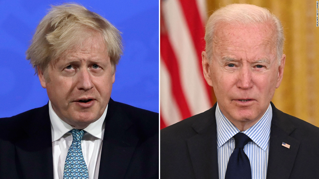 Boris and Biden: A diplomatic odd couple faces pressure to define the US-UK relationship – CNN