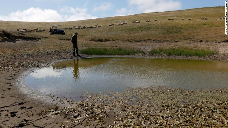 Extreme drought worsens in West, with 'exceptional' conditions covering more than 26% of the region