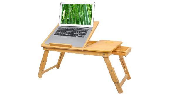 Bamboo Laptop Desk Tray