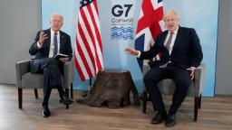 """""""Big change"""" to see Biden leading on climate after Trump policies, UK environment secretary says"""