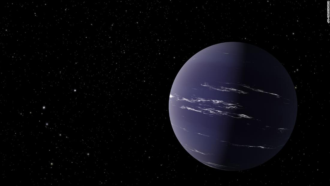 Newly discovered planet could have water clouds – CNN