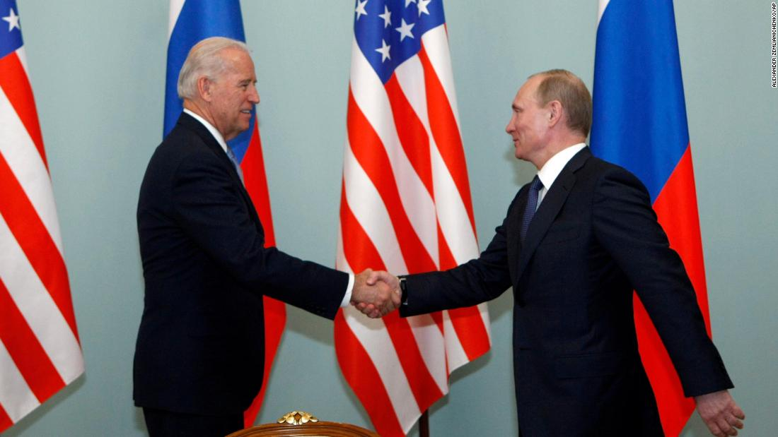 Key moments show Biden's decades of experience handling Russian leaders