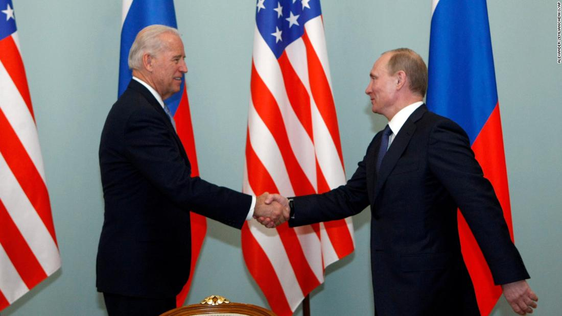 Biden's experience with Russia, in key moments from 1973 to now