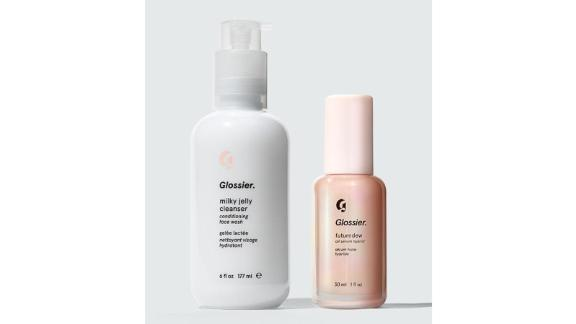 Milky Jelly Cleanser and Futuredew