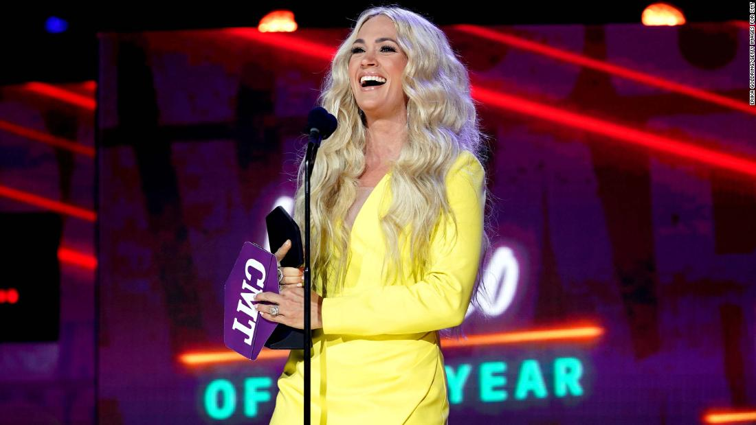 Carrie Underwood and John Legend win big at the CMT Awards