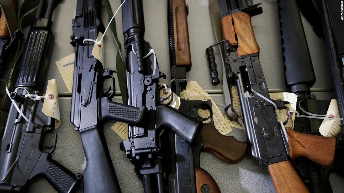 California appeals judge's ruling that overturned state's ban on assault-style weapons – CNN