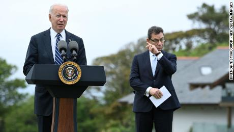 """Biden says the United States will buy and donate half a billion doses of Pfizer's Covid vaccine: """"We know the tragedy.  We also know the road to recovery '"""