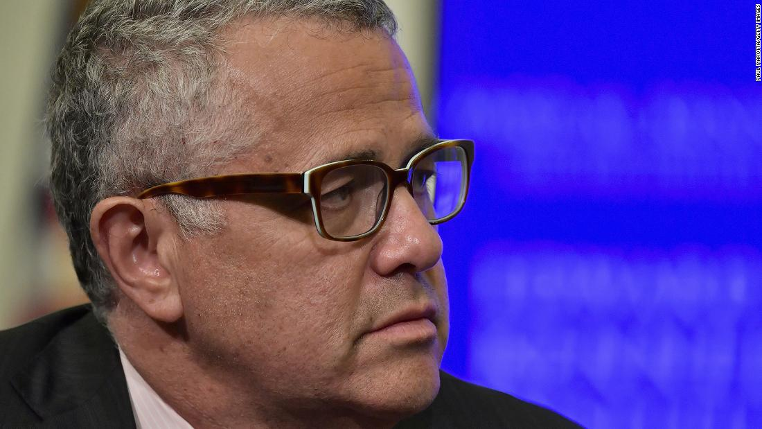 Jeffrey Toobin is back at CNN eight months after exposing himself on Zoom – CNN