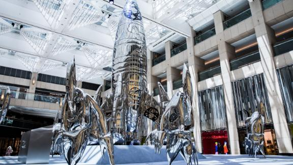 Futura's new installation in Hong Kong is his largest work to date.