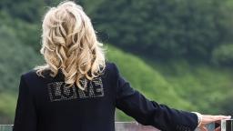 'It's a troll': CNN reporter on Jill Biden's 'love' jacket – CNN Video