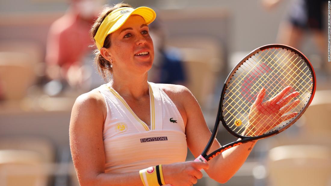 Anastasia Pavlyuchenkova reaches maiden grand slam final at French Open