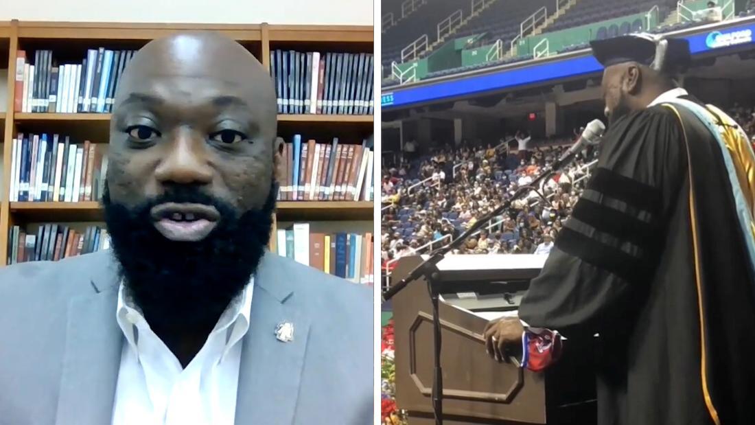 High school principal sings 'I Will Always Love You' to graduating class