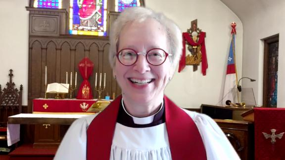 Rev. Pamela Conrad is rector of an Episcopal church in Maryland and a scientist focused on Mars.