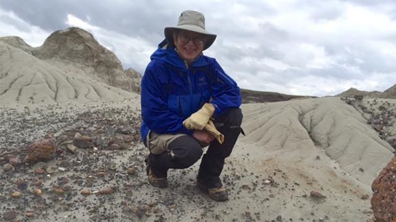 Conrad explored Dinosaur Provincial Park in Alberta, Canada.