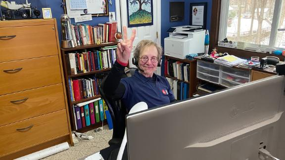 Rev. Pamela Conrad was already working from home on the day the Mars Perseverance rover landed.