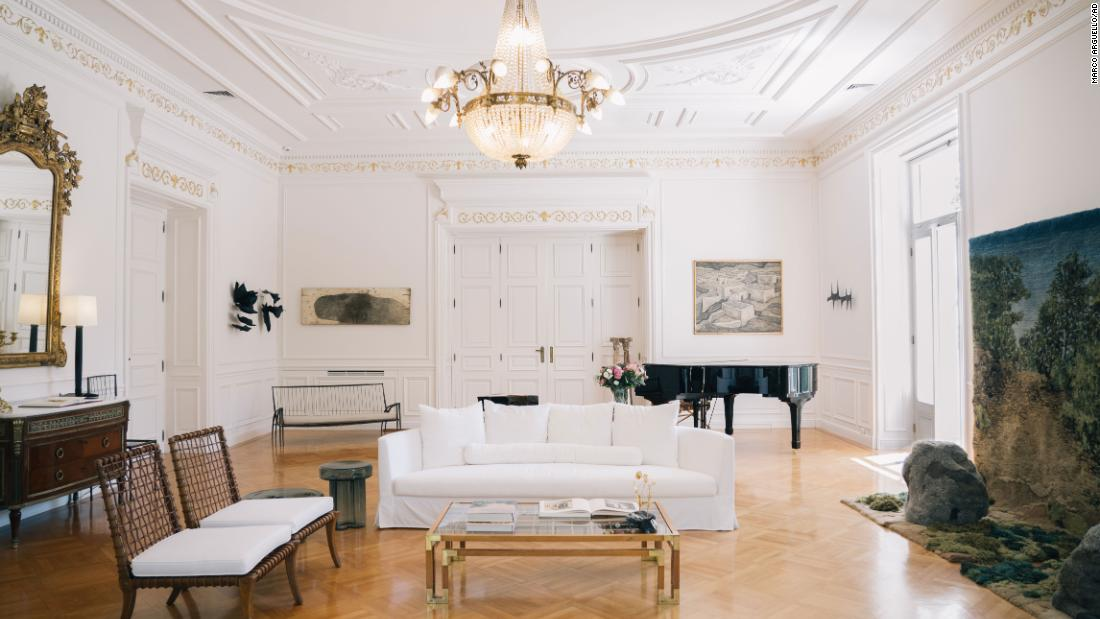 Step inside Maximos Mansion, the Greek 'White House'