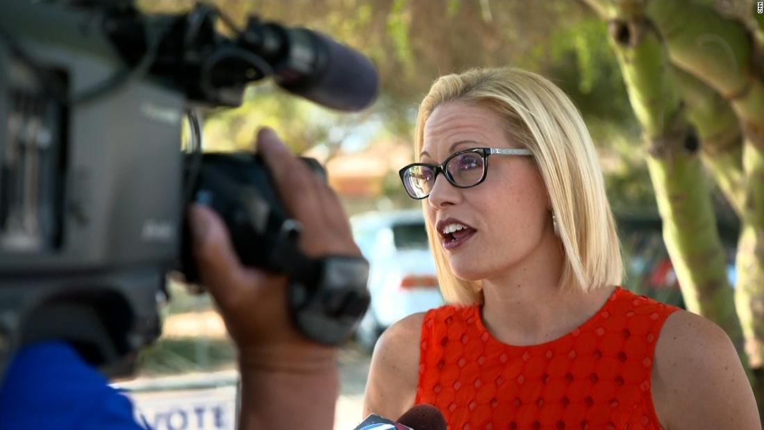 Sinema says she does not support $3.5 trillion reconciliation package Democrats plan to pass along party lines