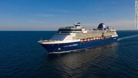 Due passeggeri della nave da crociera Celebrity Millennium sono risultati positivi al coronavirus