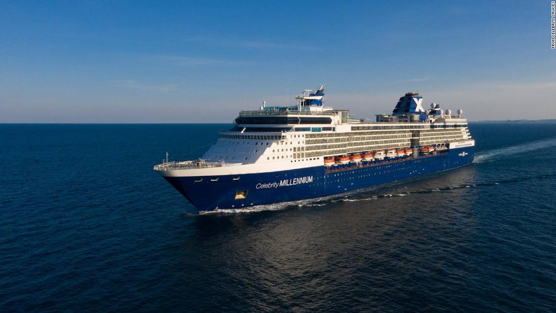 Two passengers on Celebrity Millennium cruise test positive for Covid-19