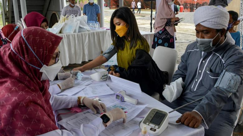 Indonesia's coronavirus spike has health experts worried the worst is yet to come