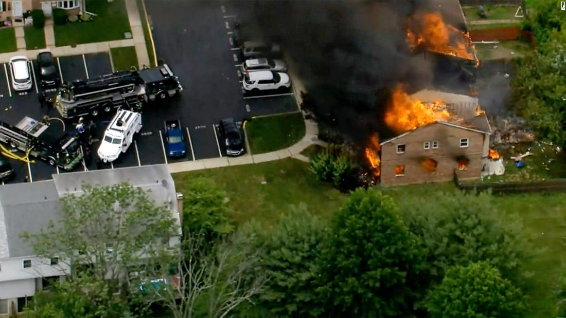 Philadelphia-area homes severely damaged after explosion, police say