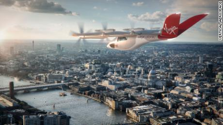American Airlines and Virgin Atlantic order electric taxis from Vertical Aerospace