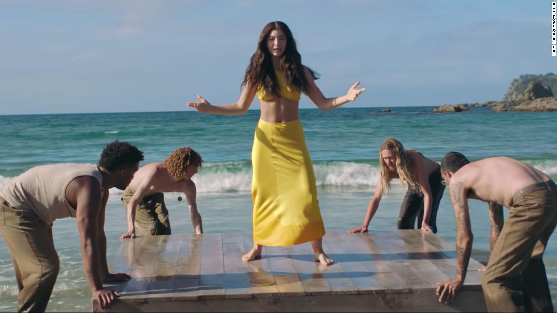 Lorde drops 'Solar Power' video - CNN