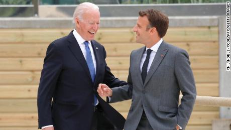 The growing rift between Biden and Macron