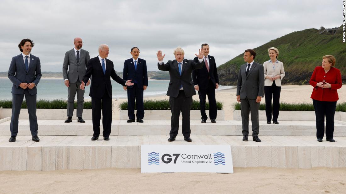 Live updates: Biden at the 2021 G7 Summit